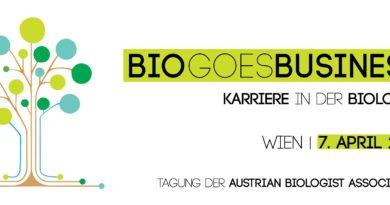 BioGoesBusiness #bgb2018 #biologie