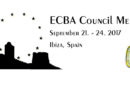 SAVE THE DATE! ECBA Council Meeting 9/2017 in Ibiza